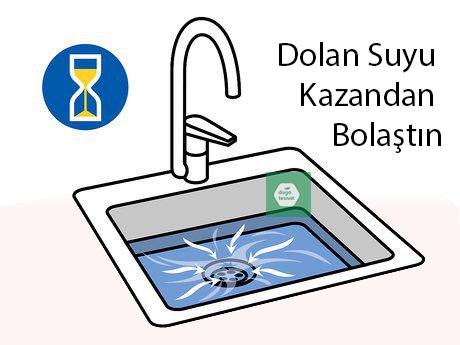 evde sirke ve tuz ile lavabo tıkanıklığı açma